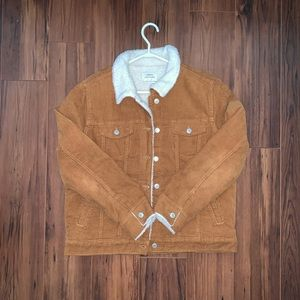 Brown corduroy jacket!